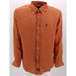 Camicia in lino botton down TIPO'S