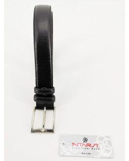 Cintura in pelle con cuciture oversize INTARSI