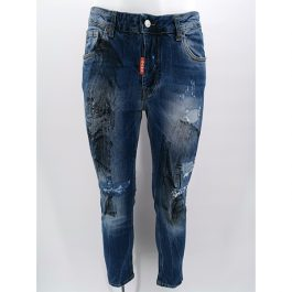 Jeans effetto pittura GANG