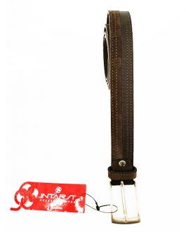 Cintura camoscio-pelle INTARSI