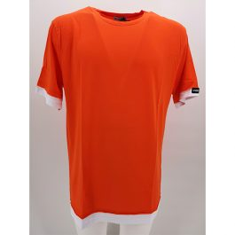 T-shirt bicolore oversize WITH SMITH